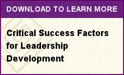 Critical Success Factors for Leadership Development