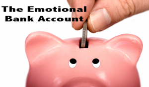 What's the balance on your emotional bank account?