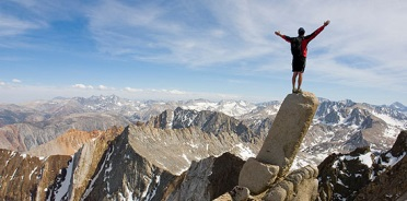 Mountain climbing can look an awful lot like leadership