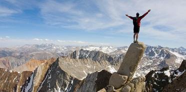 Mountain climbing can look an awful lot like leadership