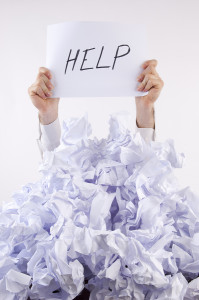Help I'm in overwhelm…and 4 key steps out