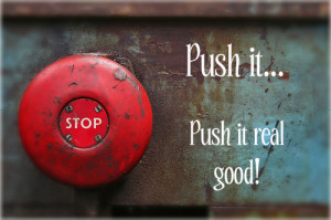 How safe are you from people who push your buttons?