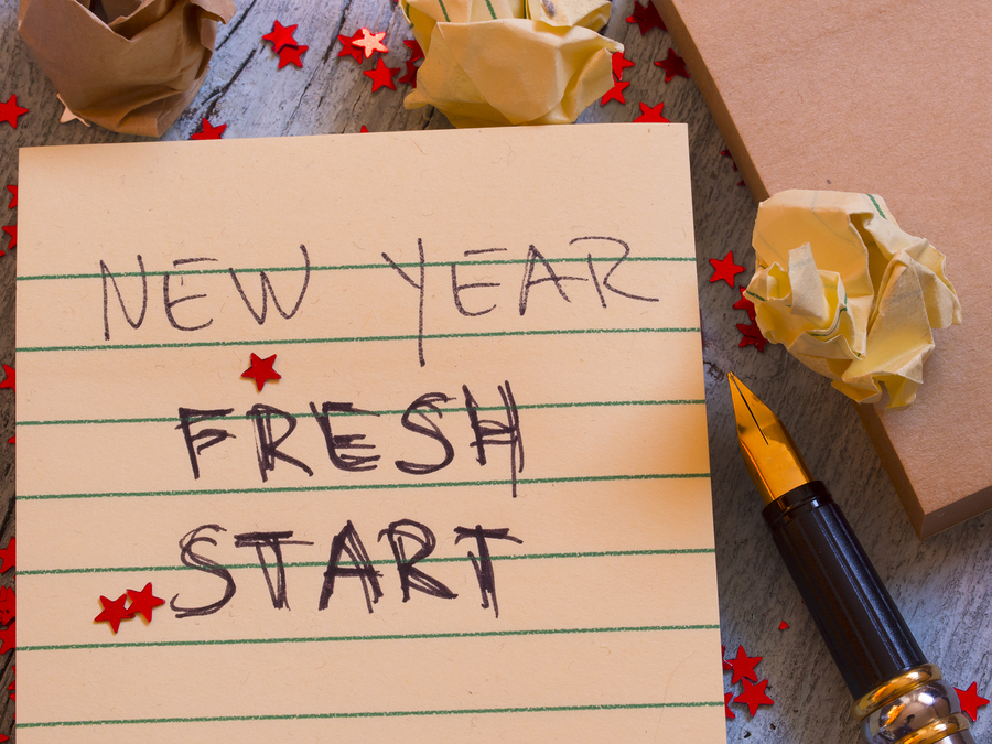 If all else fails, use the new year excuse