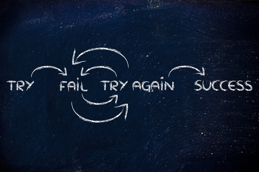 Want to succeed? Fail first