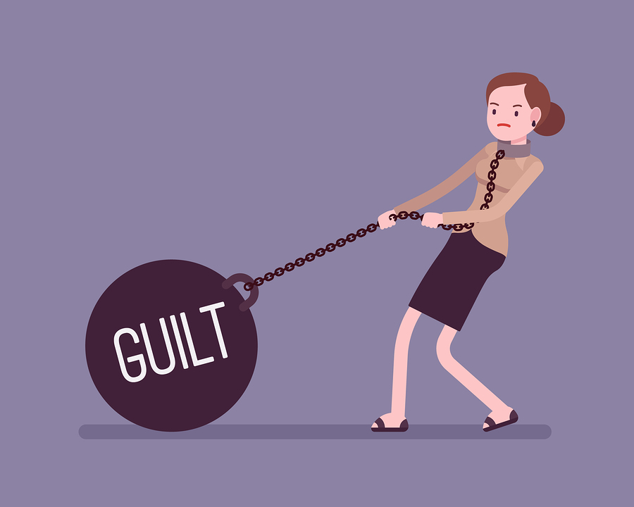 A little bit of guilt will help your leadership