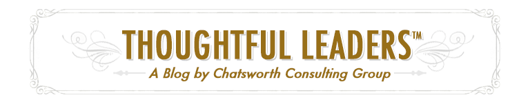 Chadworth Consulting - Thoughtful Leadershiop Blog
