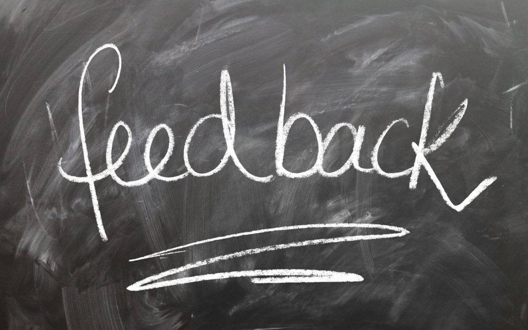 Feedback can be a gift
