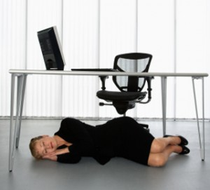 Is it a good thing to be asleep on the job?