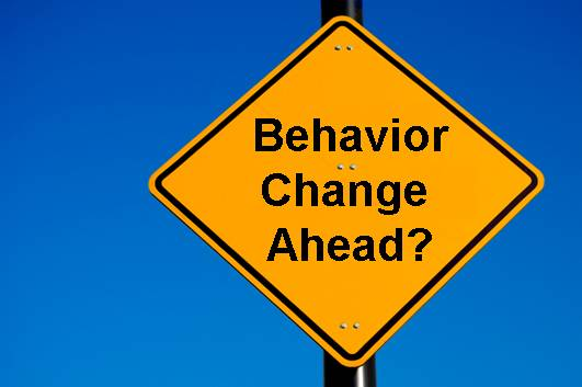 Changing your behavior can solicit surprising reactions