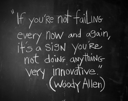 Failing…to learn