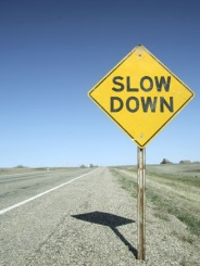 Slow down for better leadership