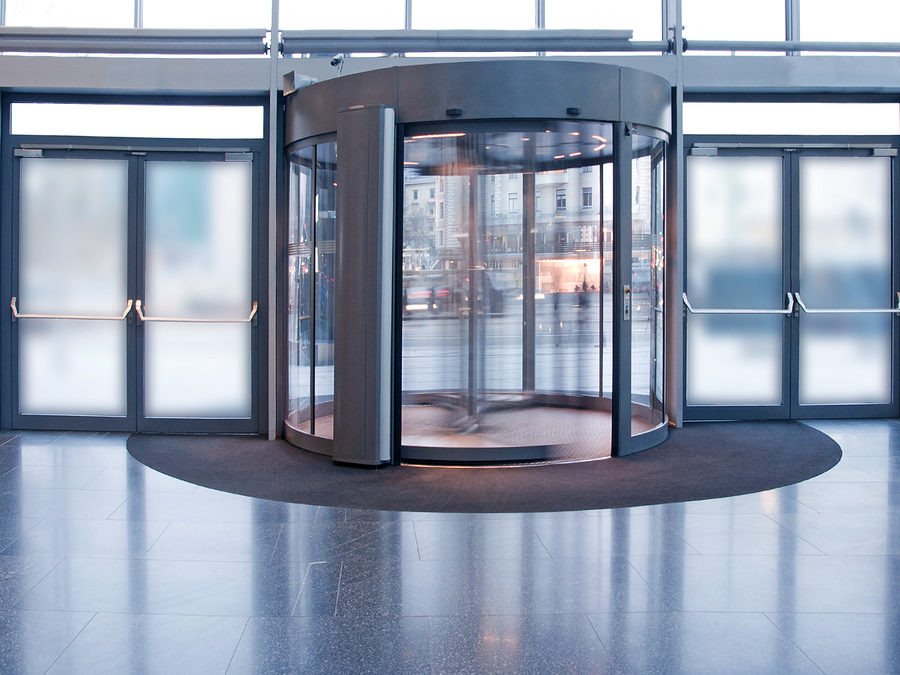 Do you have a revolving door?