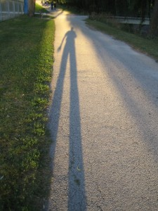Are you causing your own shadow?