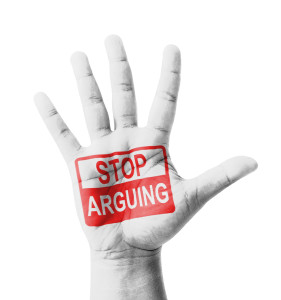 The secret to ending an argument