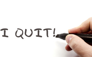 Are you a quitter?