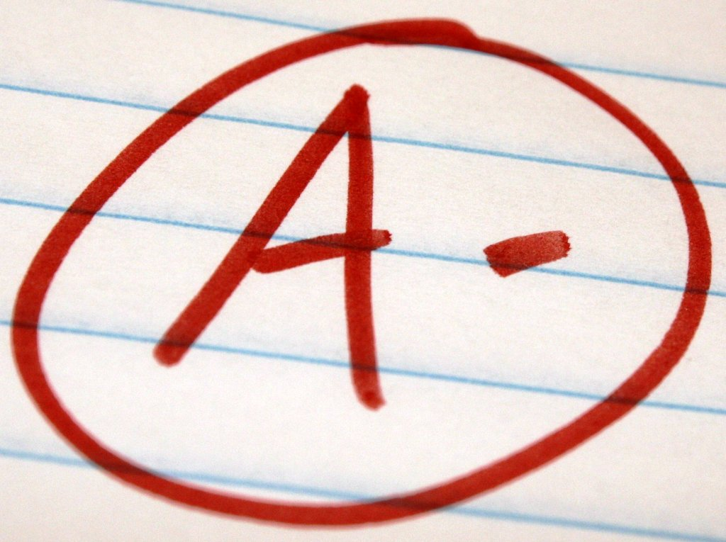 I'm aiming for an A-