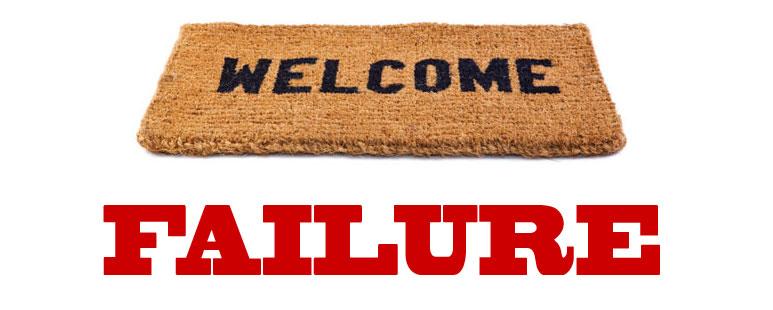Inviting failure