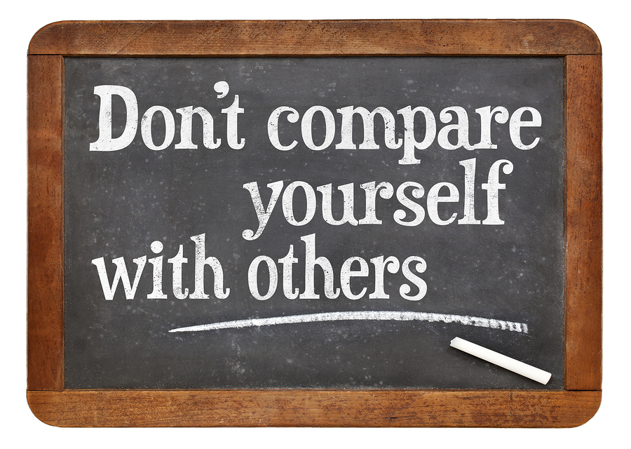 Comparing yourself to others is a waste of time – and here's how to stop