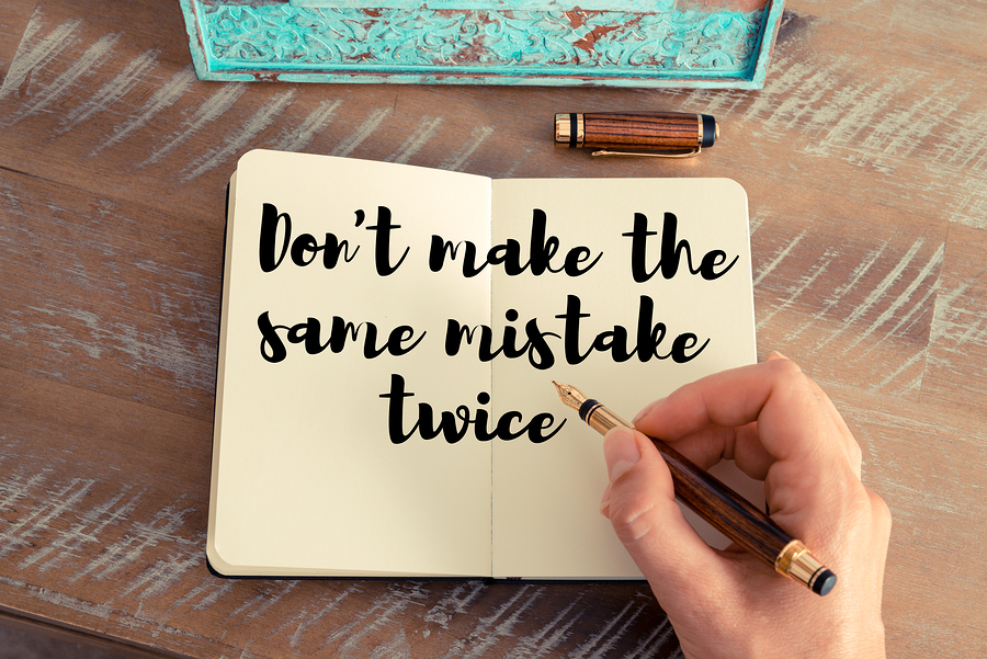 Make every mistake once