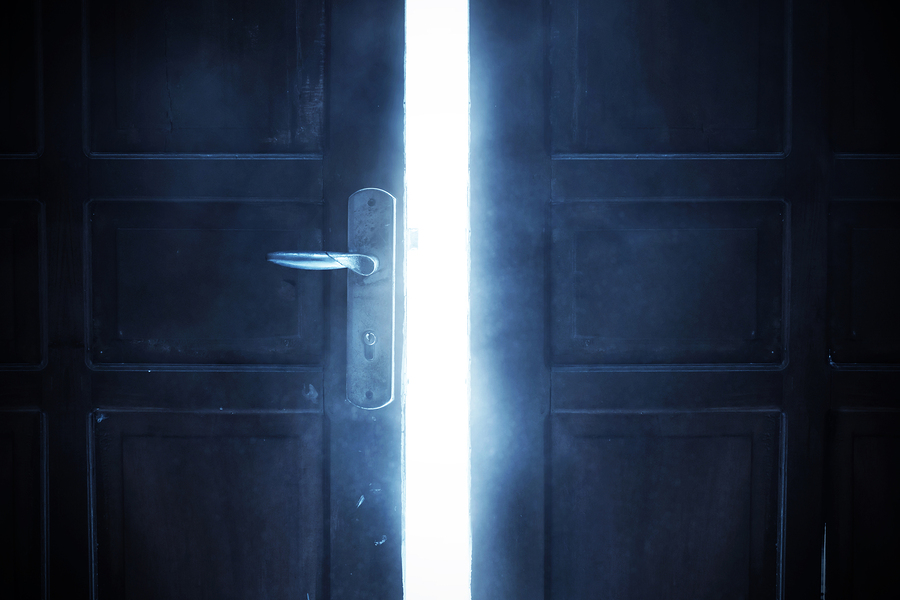 Why you're afraid to go through that forbidden door