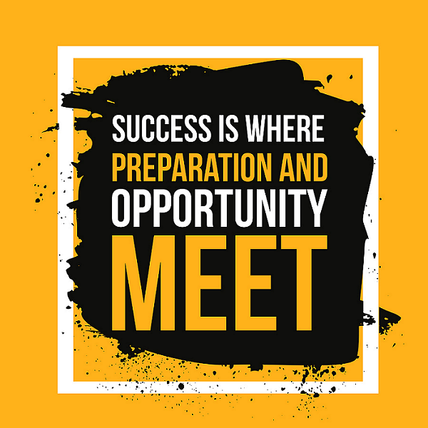 Now is a time to prepare – though preparation may be very different from what you think it should be