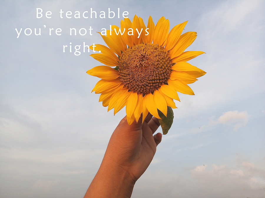 Why it's important to be teachable