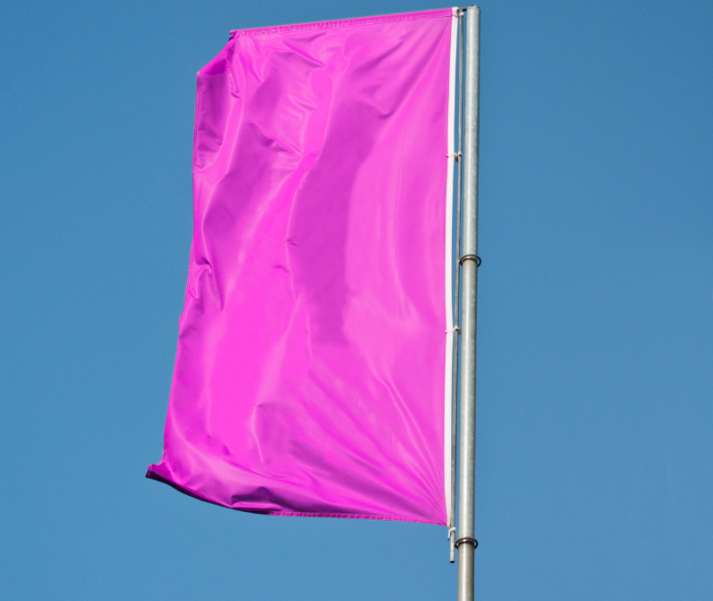 Red flags get your attention, but what about those pink flag moments?