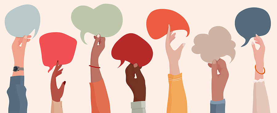 Speak up – people want to hear what you have to say